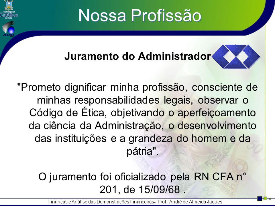 Juramento do Administrador