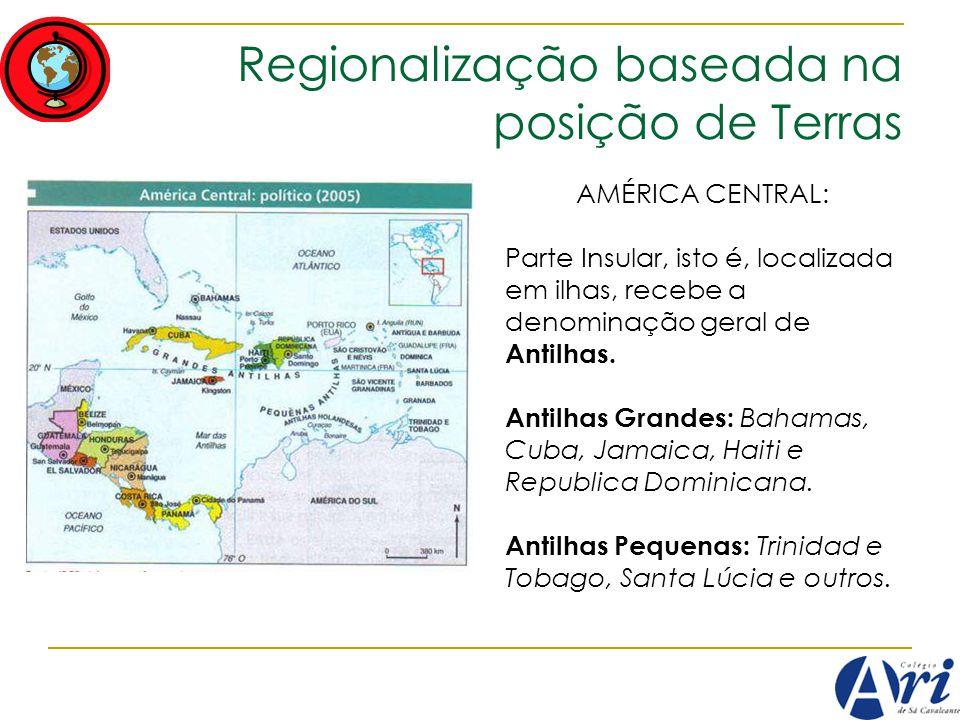 Regionalização baseada na posição de Terras
