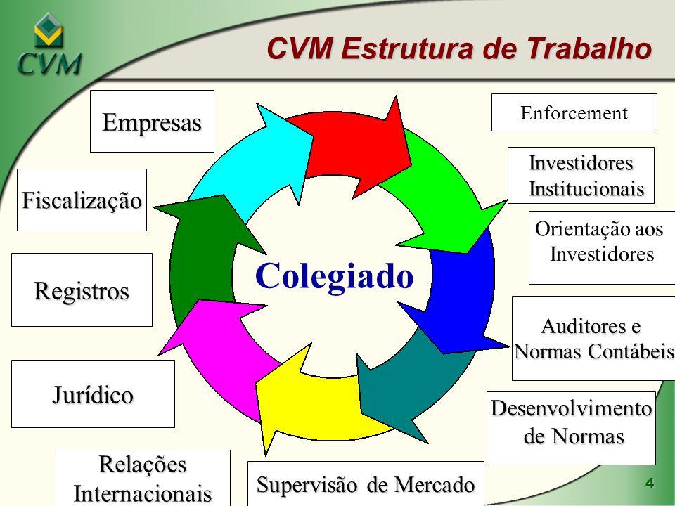 CVM Estrutura de Trabalho