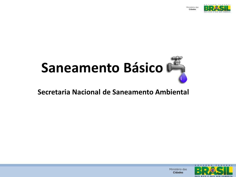 Secretaria Nacional de Saneamento Ambiental