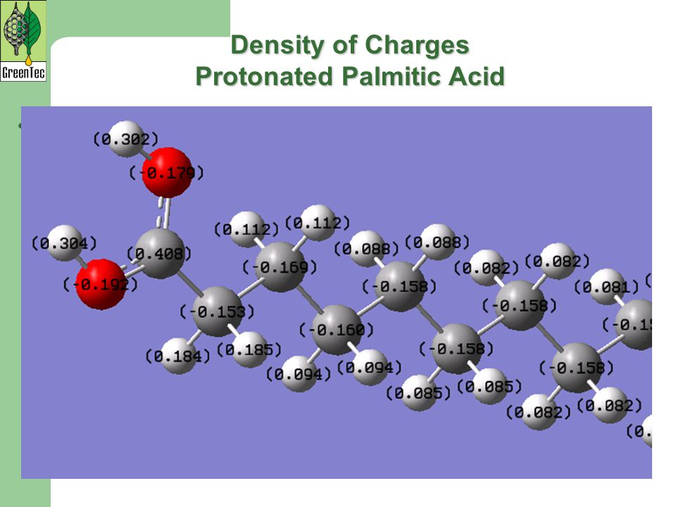 Protonated Palmitic Acid