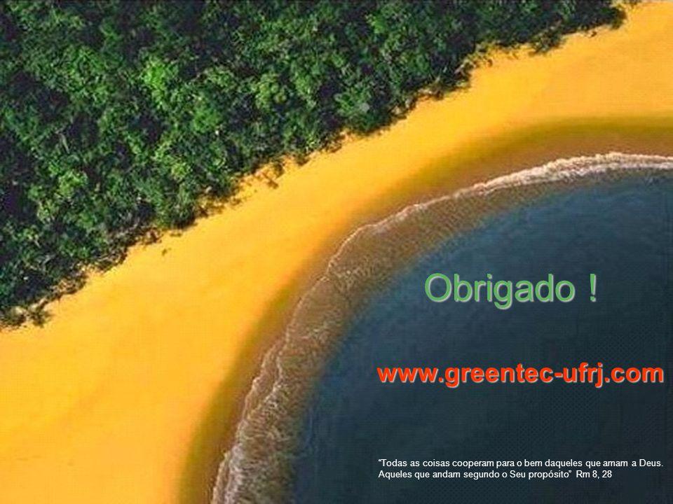 Obrigado ! www.greentec-ufrj.com