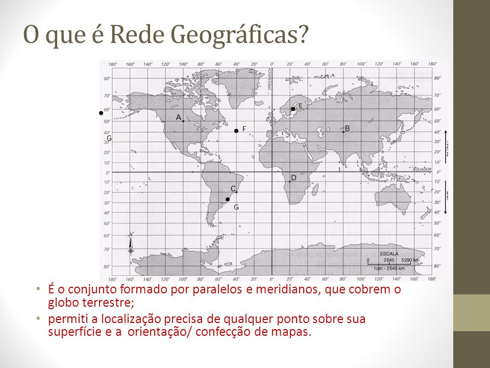 O que é Rede Geográficas