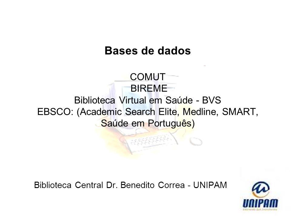 Biblioteca Central Dr. Benedito Correa - UNIPAM