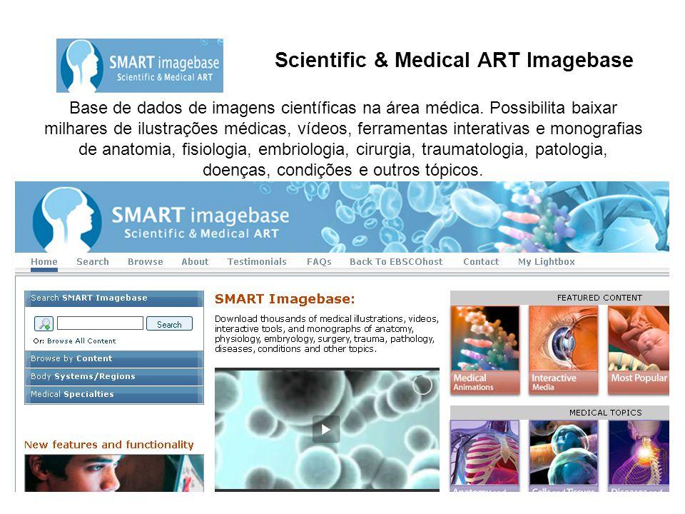 Scientific & Medical ART Imagebase Base de dados de imagens científicas na área médica.