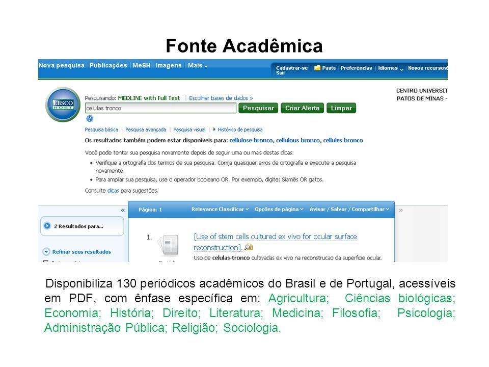 Fonte Acadêmica