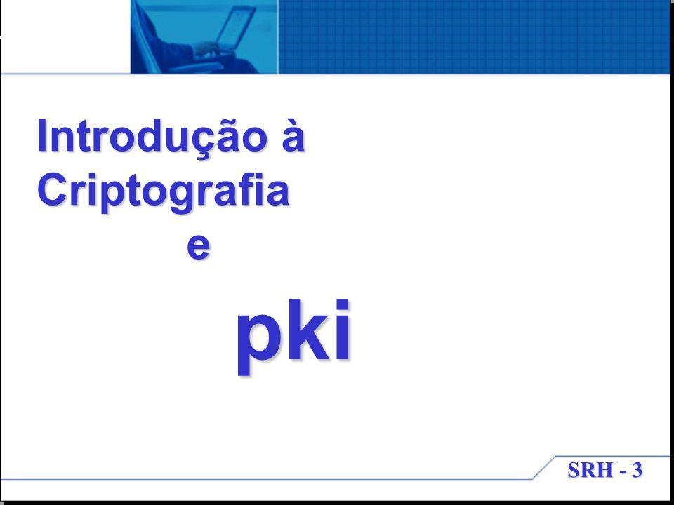 Introdução à Criptografia e pki