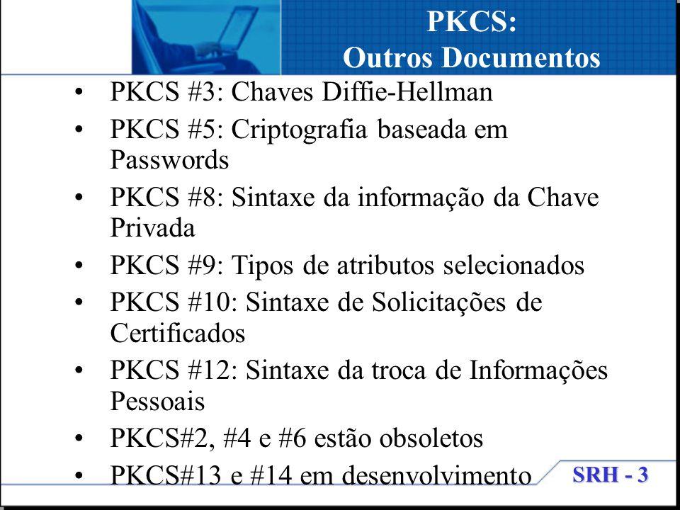 PKCS: Outros Documentos