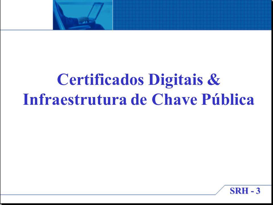 Certificados Digitais & Infraestrutura de Chave Pública
