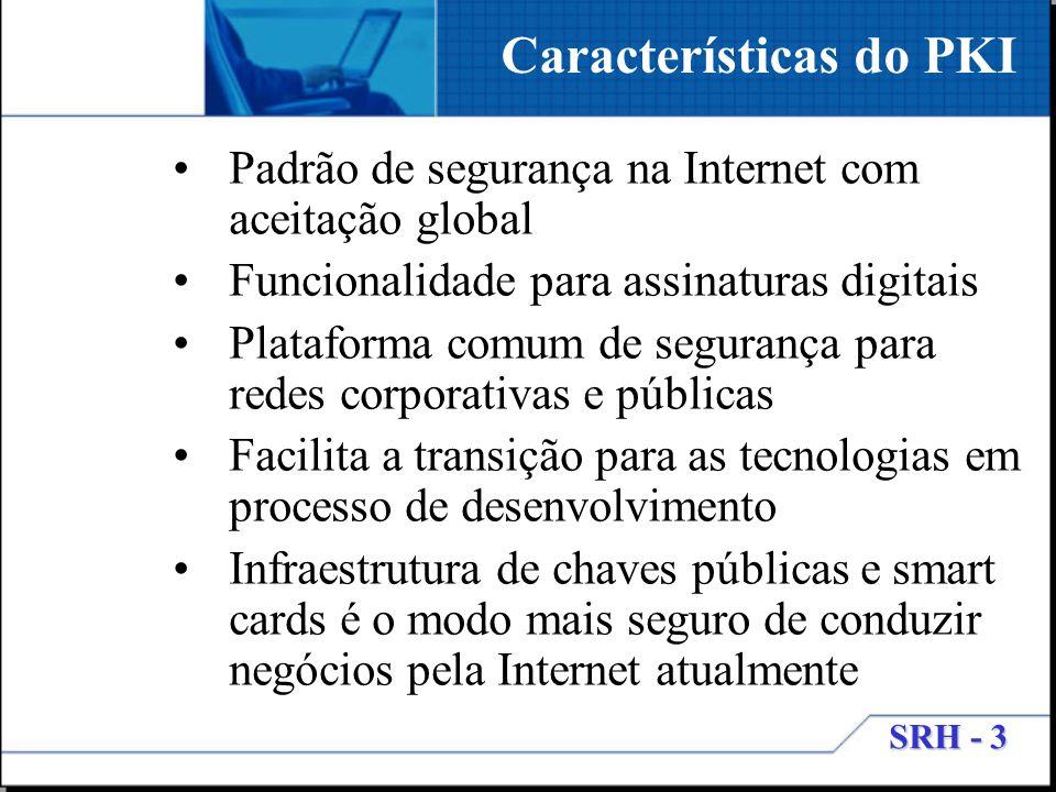 Características do PKI