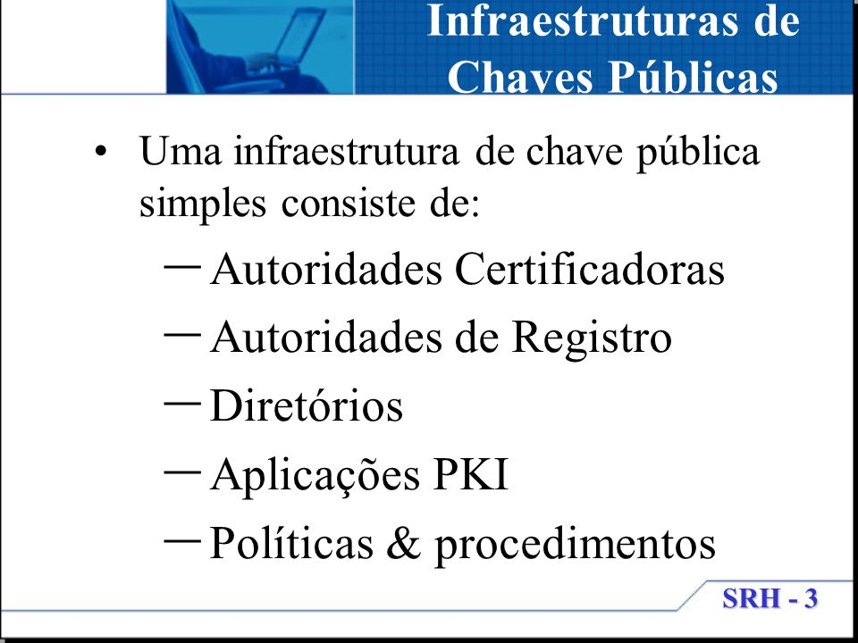 Infraestruturas de Chaves Públicas