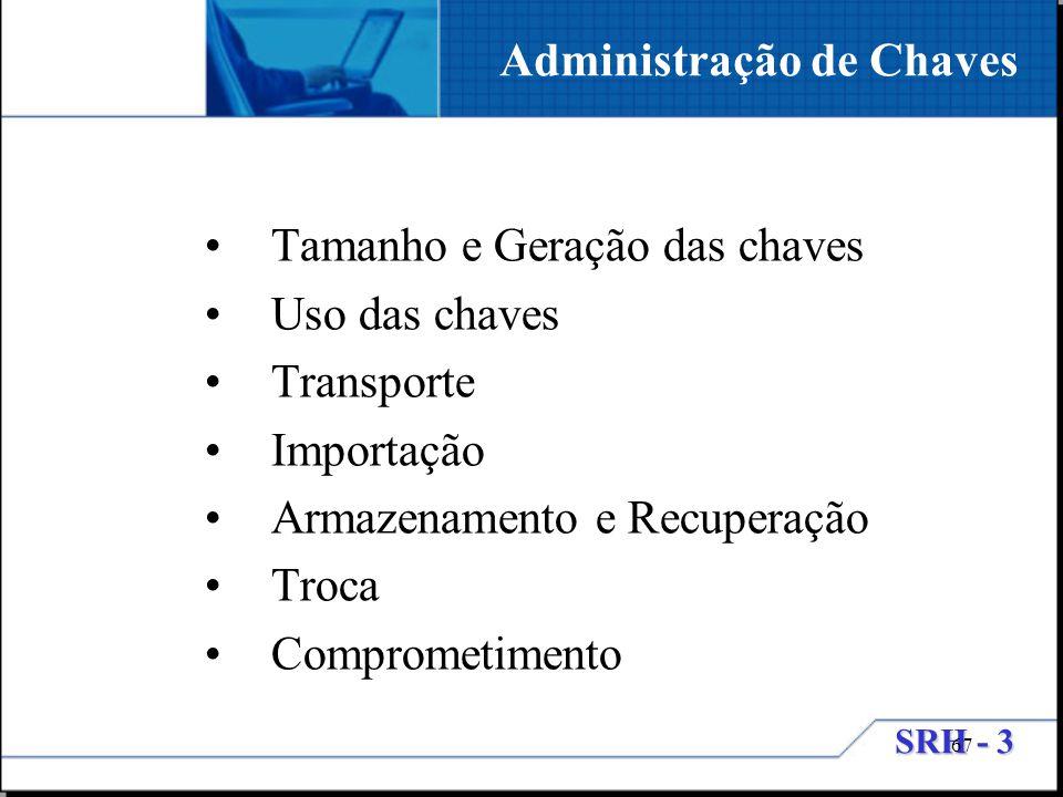 Administração de Chaves