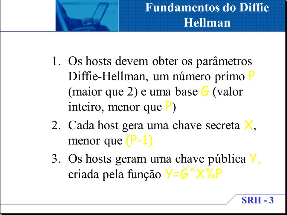Fundamentos do Diffie Hellman