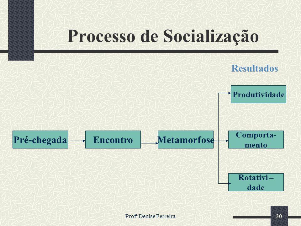 Processo de Socialização