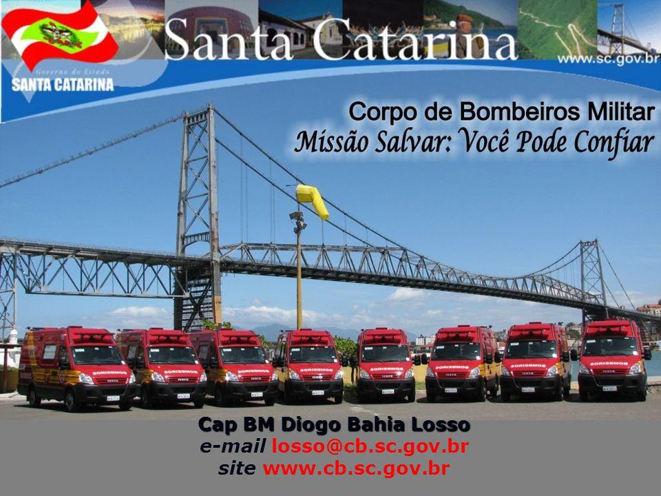 Cap BM Diogo Bahia Losso e-mail losso@cb.sc.gov.br