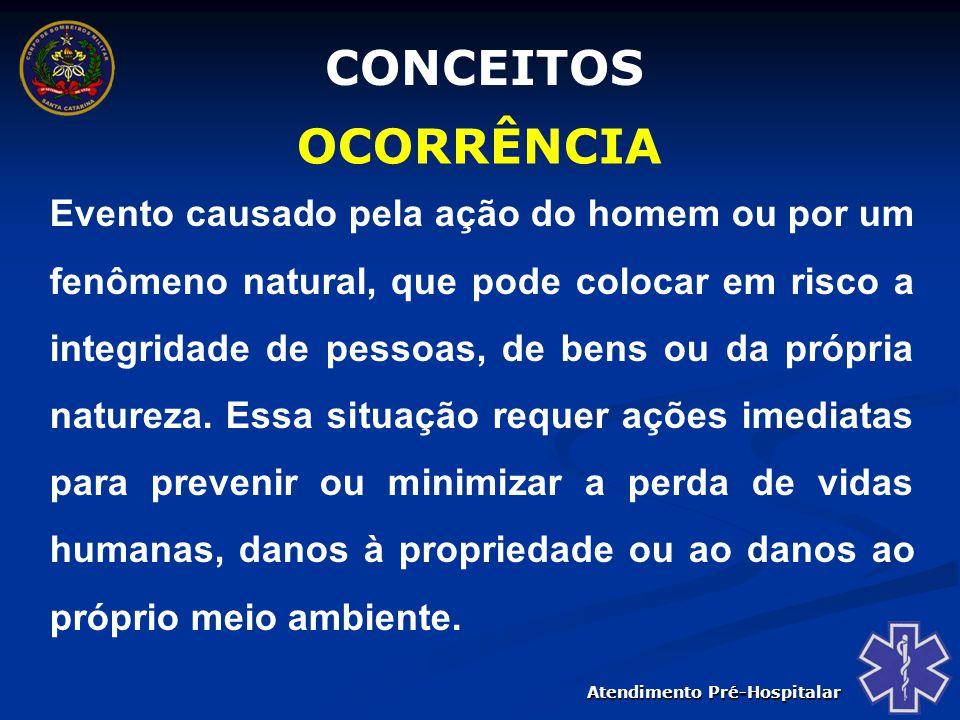 CONCEITOS OCORRÊNCIA.