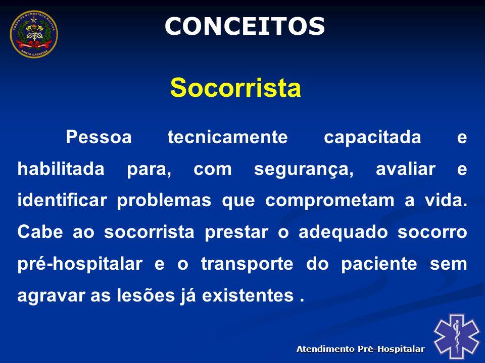 CONCEITOS Socorrista.