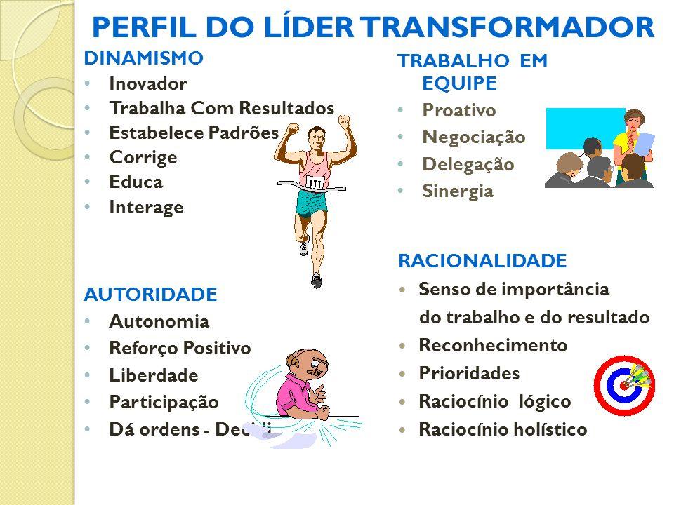 PERFIL DO LÍDER TRANSFORMADOR