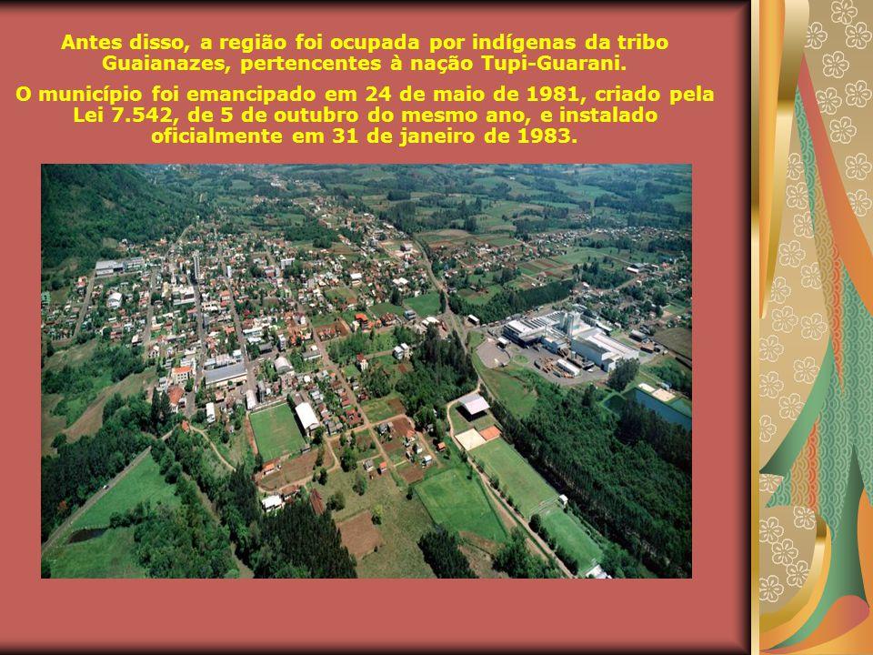 Antes disso, a região foi ocupada por indígenas da tribo Guaianazes, pertencentes à nação Tupi-Guarani.
