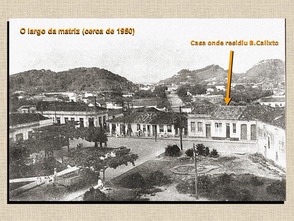 O largo da matriz (cerca de 1950)