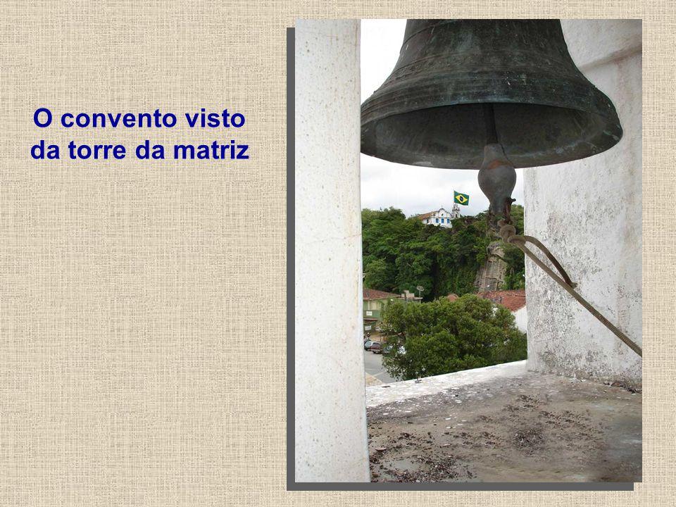 O convento visto da torre da matriz