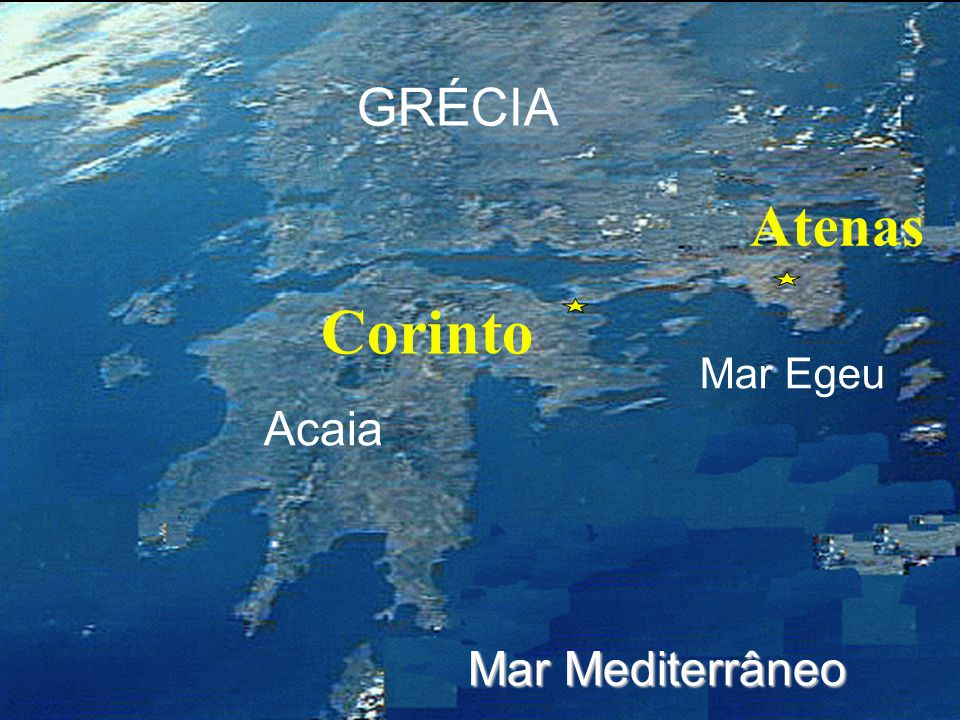 Click to add title Corinto Atenas GRÉCIA Click to add text Acaia