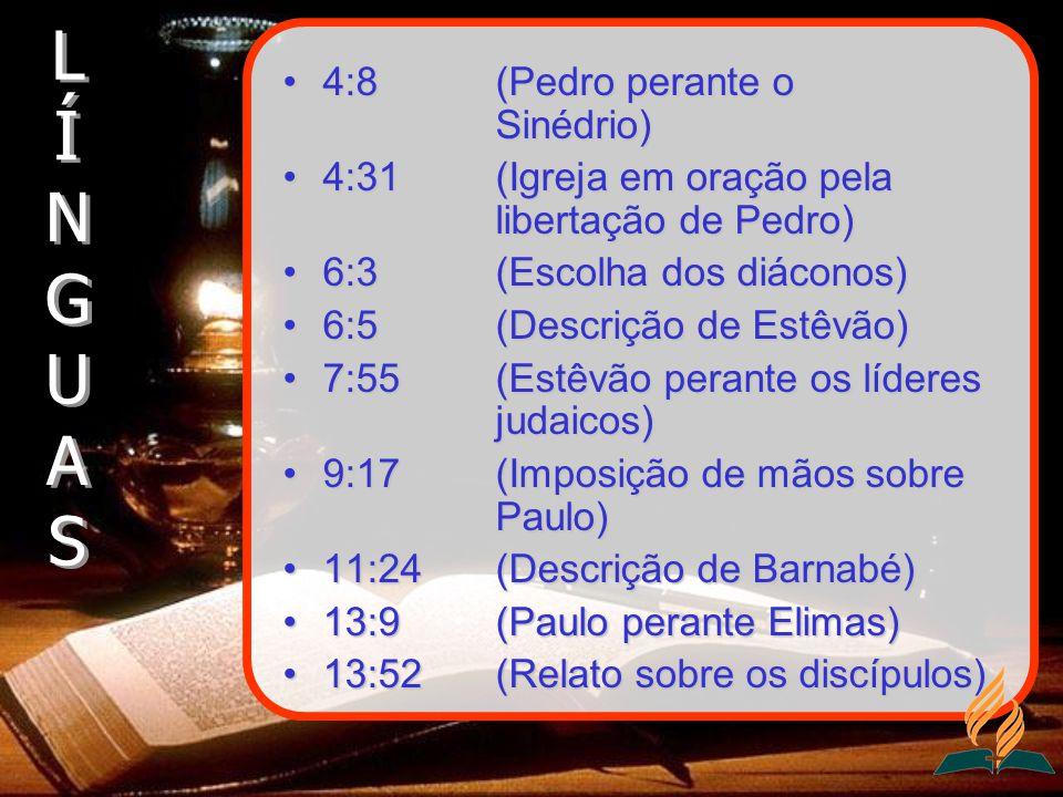 4:8 (Pedro perante o Sinédrio)