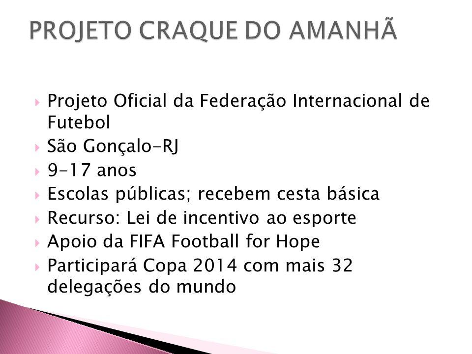 PROJETO CRAQUE DO AMANHÃ