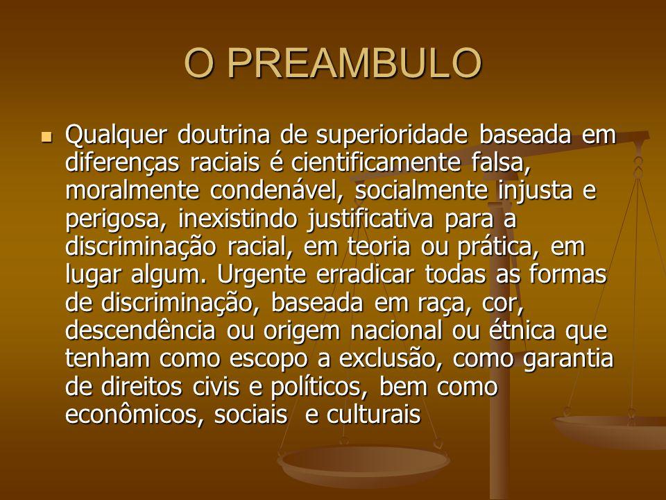 O PREAMBULO