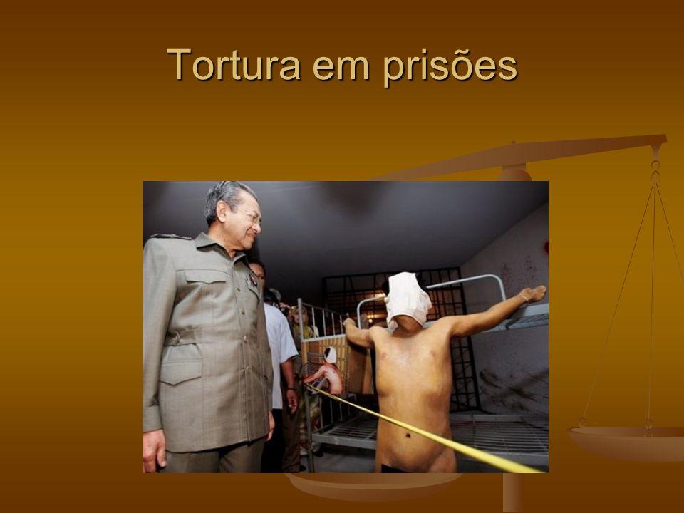 Tortura em prisões