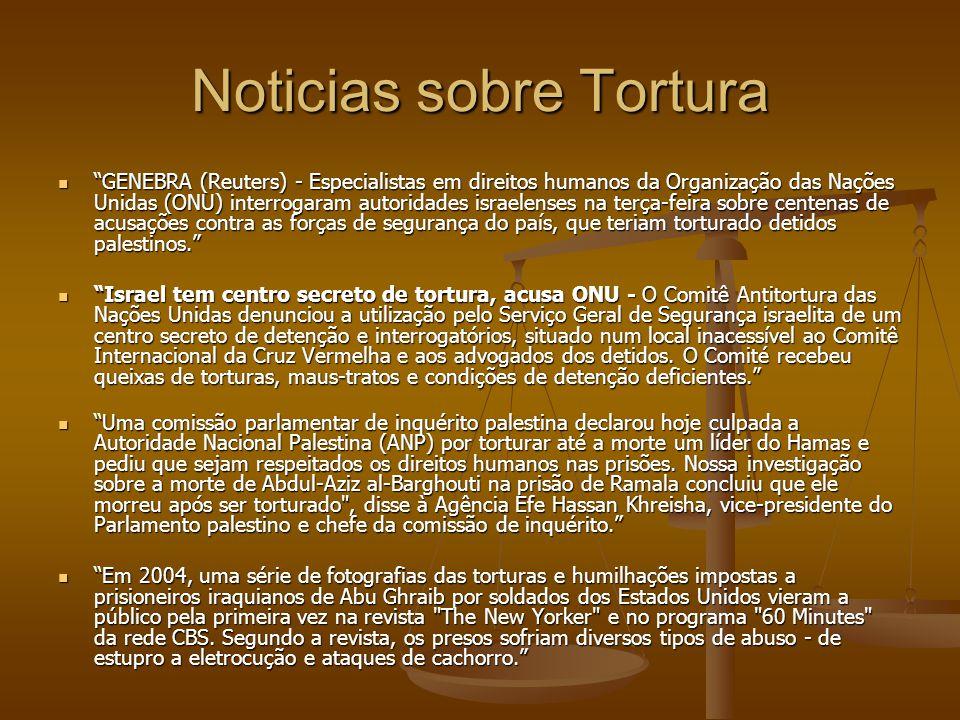 Noticias sobre Tortura