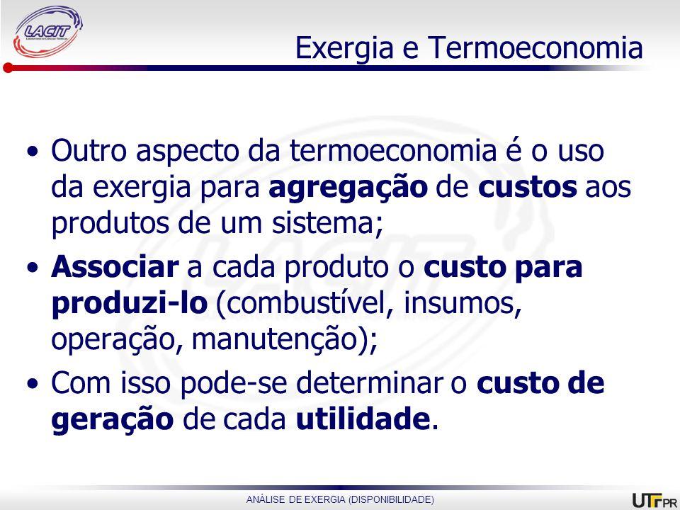 Exergia e Termoeconomia