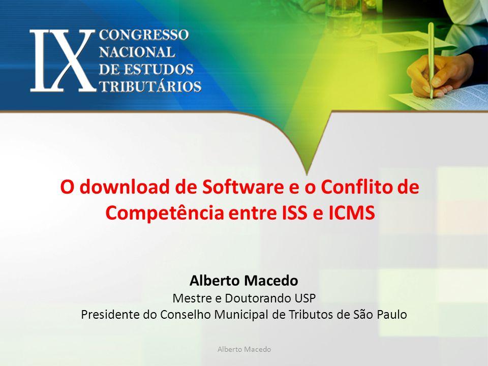 O download de Software e o Conflito de Competência entre ISS e ICMS