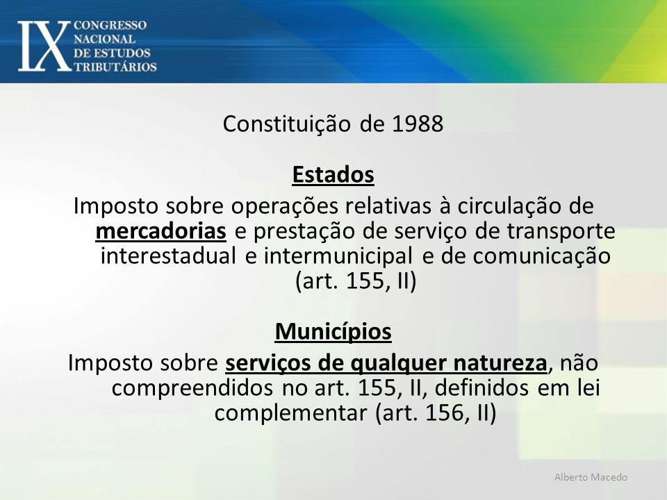 Constituição de 1988 Estados