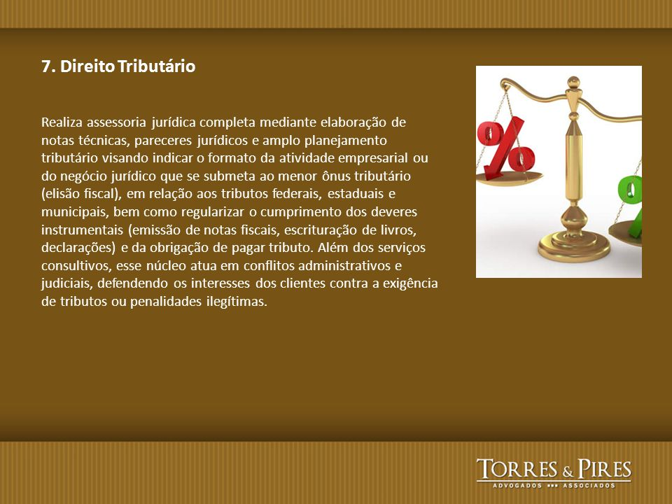 7. Direito Tributário