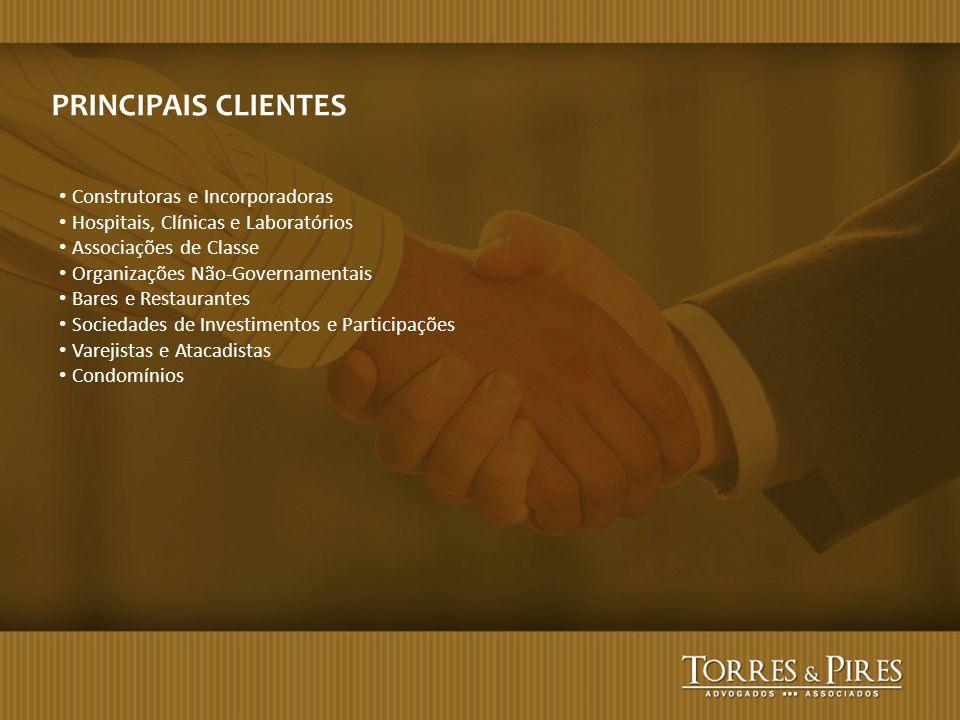 PRINCIPAIS CLIENTES Construtoras e Incorporadoras