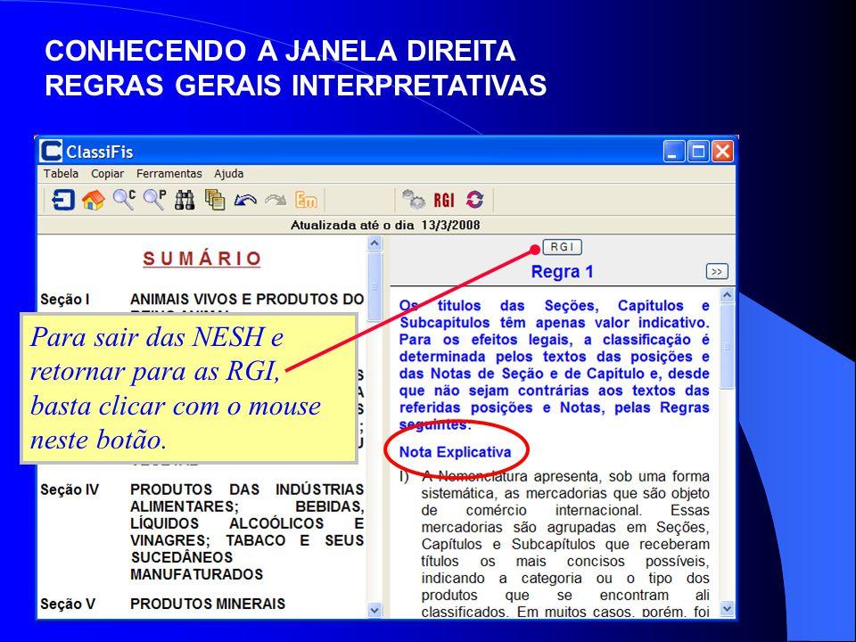 CONHECENDO A JANELA DIREITA REGRAS GERAIS INTERPRETATIVAS
