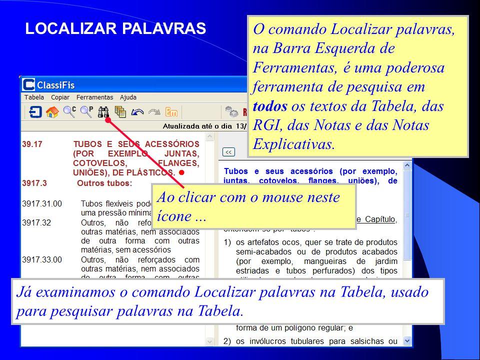 LOCALIZAR PALAVRAS