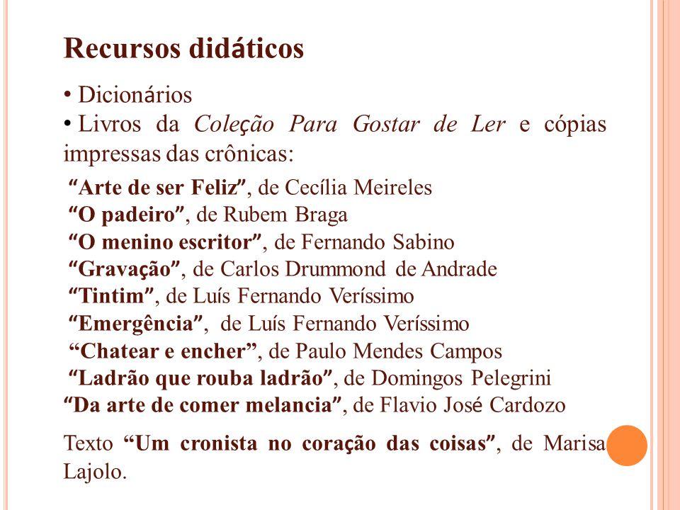 Recursos didáticos Dicionários