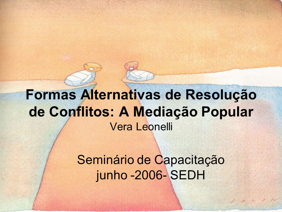 Seminário de Capacitação junho -2006- SEDH