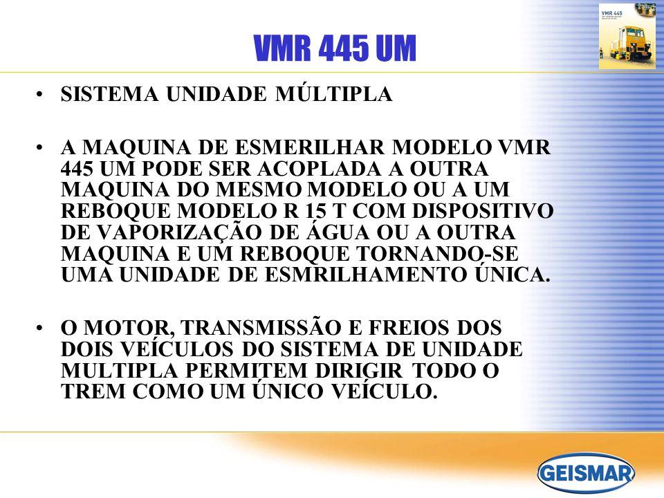 VMR 445 UM SISTEMA UNIDADE MÚLTIPLA