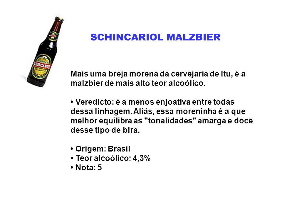 SCHINCARIOL MALZBIER