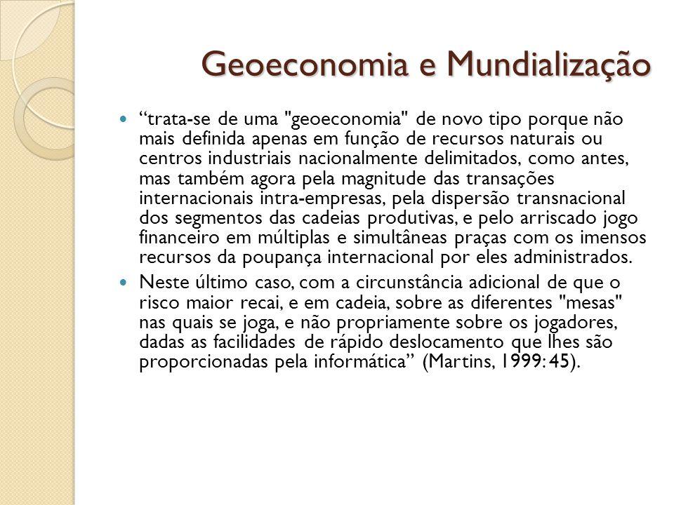 Geoeconomia e Mundialização