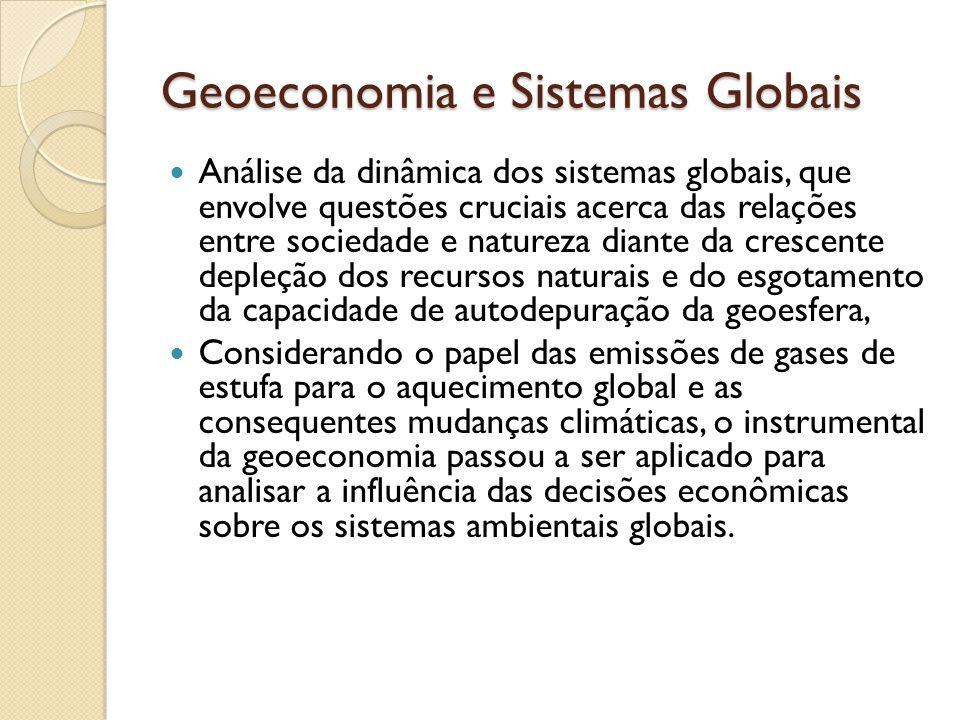 Geoeconomia e Sistemas Globais