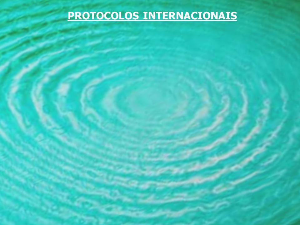 PROTOCOLOS INTERNACIONAIS