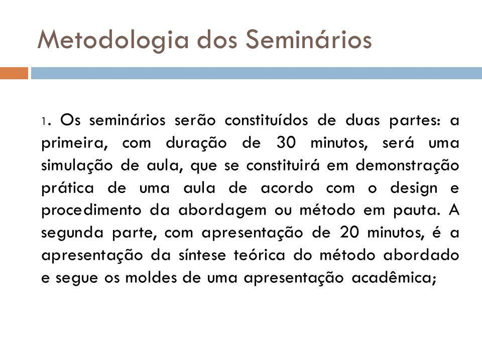 Metodologia dos Seminários