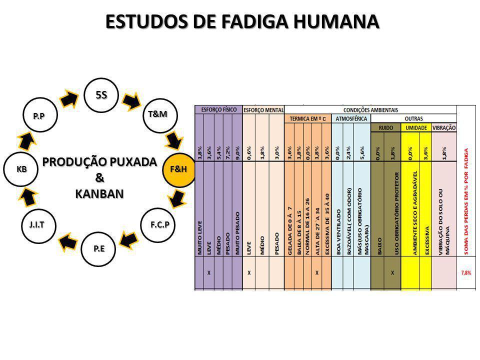 ESTUDOS DE FADIGA HUMANA