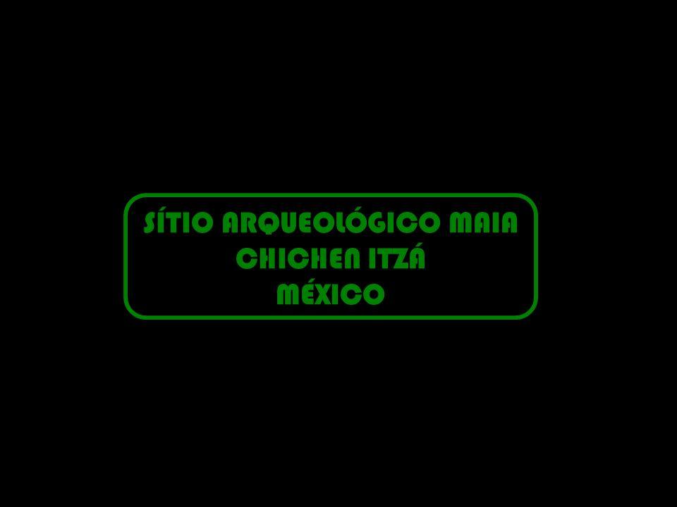 SÍTIO ARQUEOLÓGICO MAIA CHICHEN ITZÁ MÉXICO