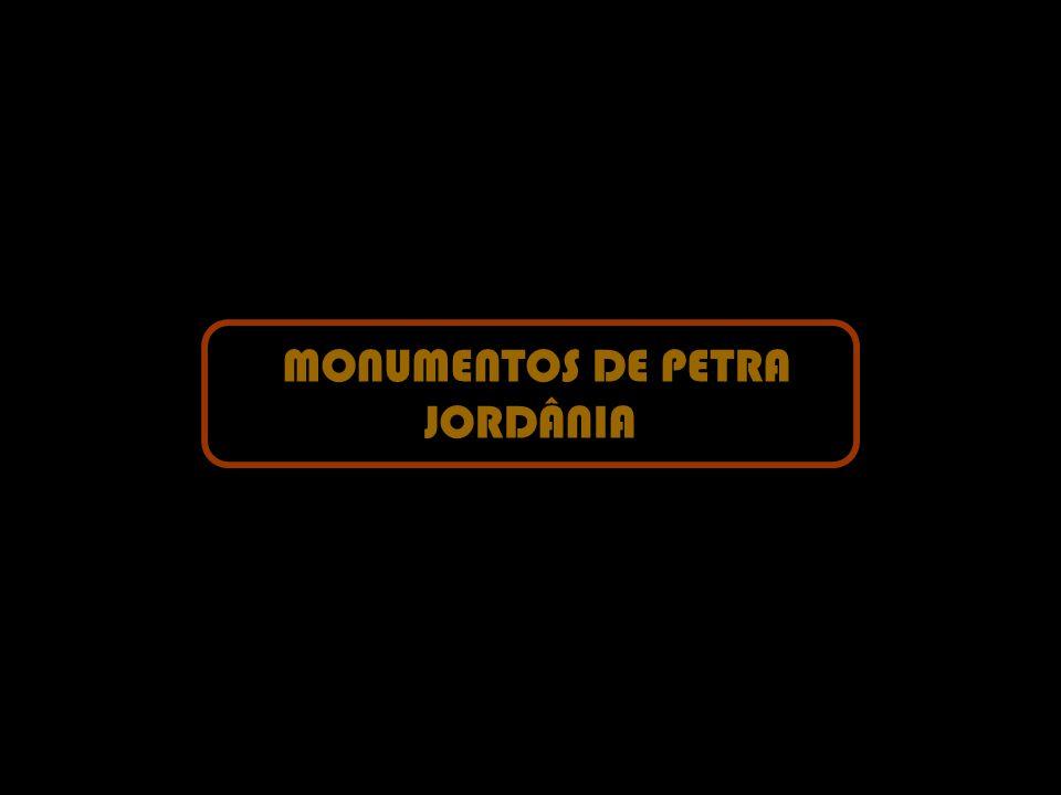 MONUMENTOS DE PETRA JORDÂNIA