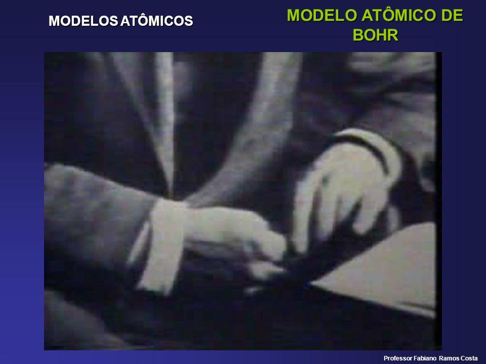 MODELO ATÔMICO DE BOHR MODELOS ATÔMICOS Professor Fabiano Ramos Costa